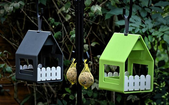 karmnik dla ptaków do samodzielnego montażu